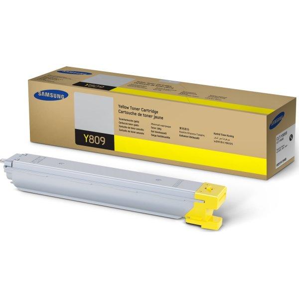 Samsung CLX-9201NA, lasertoner, gul, 15.000 s.