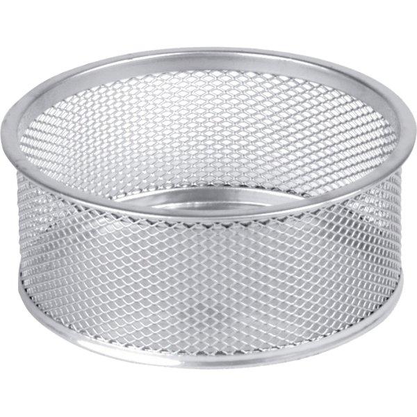Office clipsholder rund, sølv