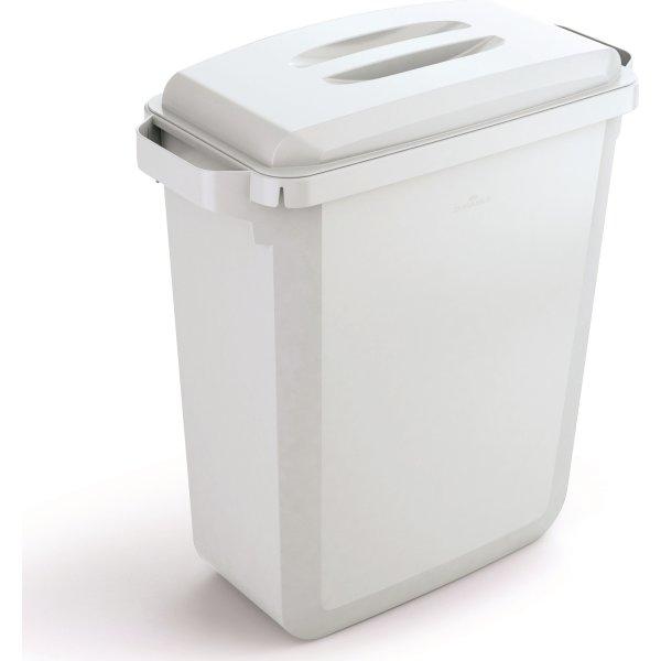 """Låg """"håndtag"""" til affaldsspand 60 l, Hvid"""