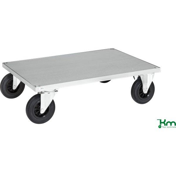 Flexi 630 enkelt vogn, 100x70x26, Stålplade