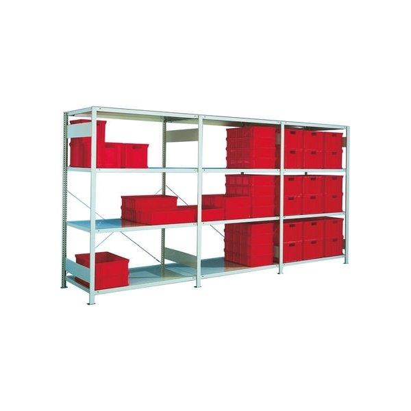 META Clip 230 kg, 250x130x(2x40), Tilbyg, Galvanis