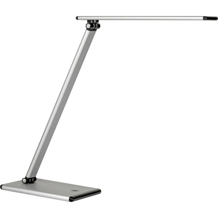 Unilux Terra bordlampe, sølvfarvet