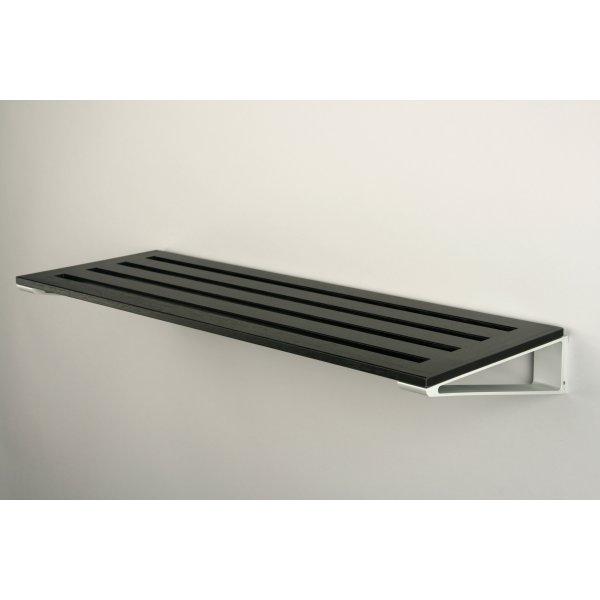 Fantastisk KNAX Skohylde, 40 cm, sortbejdset eg - Fri Fragt! QC71