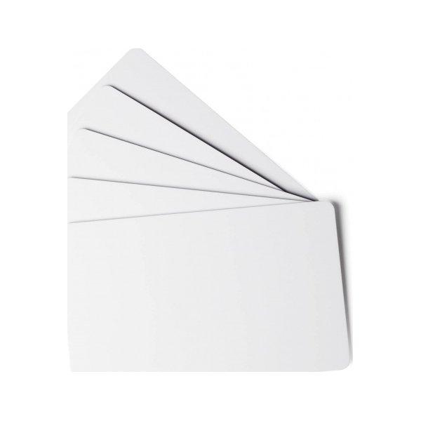 Duracard tynde plast-kort 0,5 mm, 100 stk