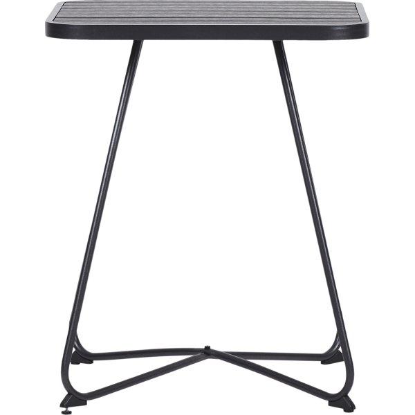 Frederik cafebord Hx70xB60xL60 cm, sort