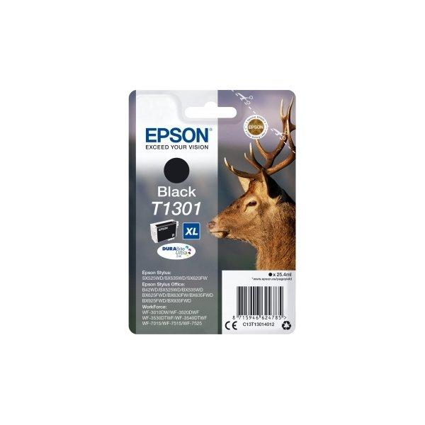 Epson nr.T1301/C13T13014022 blækpatron, sort