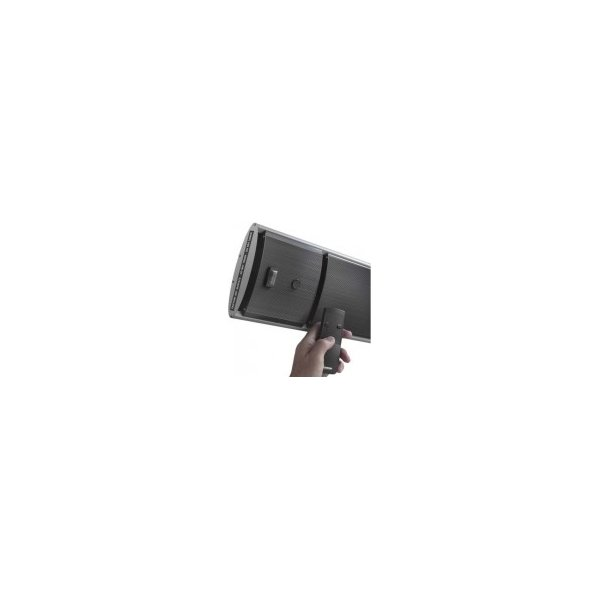 "Terrassevarmer ""HEATBEAM""1800 W, L:125 cm, Sort"