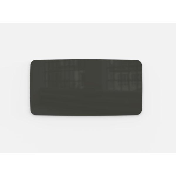 Lintex Mood Flow, 200 x 100 cm, mørkegrå classy
