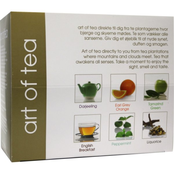 Art of tea luksus blandet te 6x5 breve