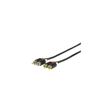 eSTUFF Phono Extension Cable 5m