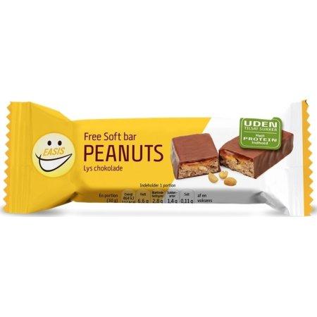 EASIS Free Soft bar peanuts/lys choko sukkerfri