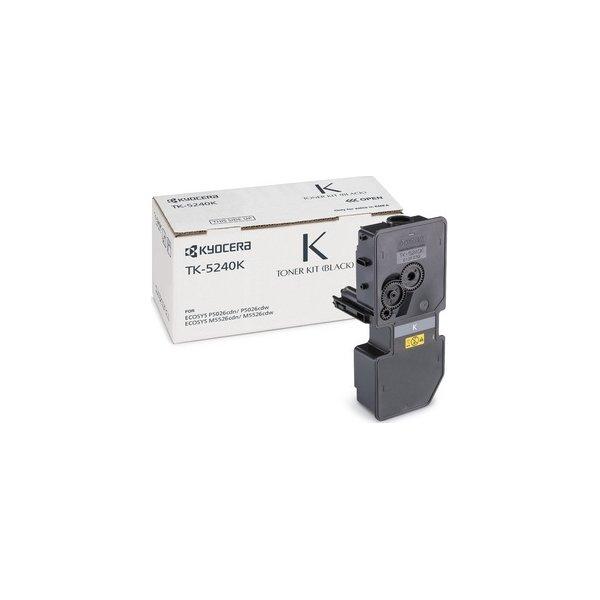 Kyocera TK-5240K lasertoner, sort, 4000s