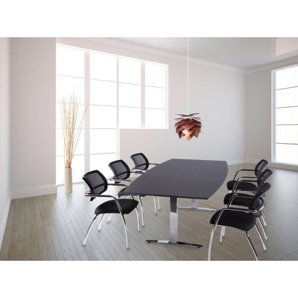 Terme Basic konferencesæt, 220x110/90 cm, linoleum