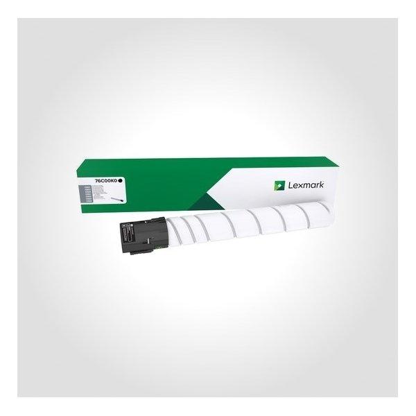 Lexmark CS92X/CX92X lasertoner, sort, 18.500s