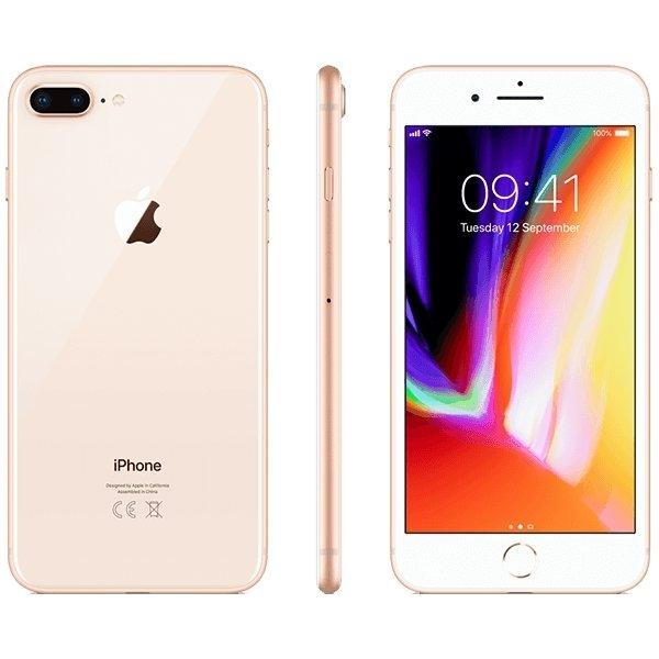 Apple iPhone 8 PLUS 256GB, guld