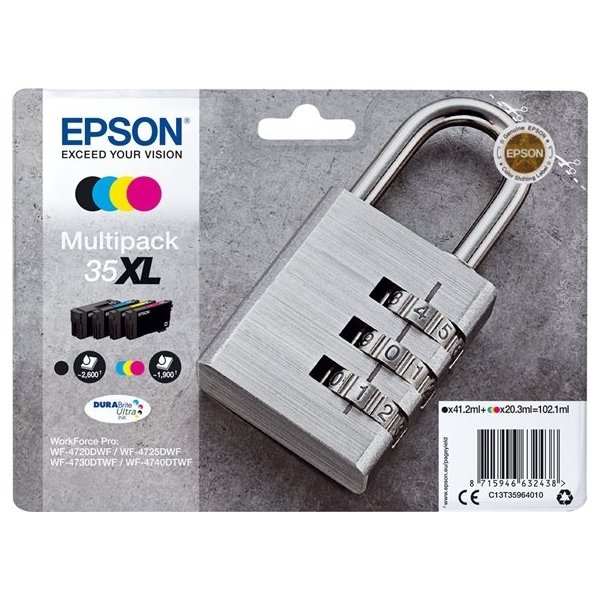 EPSON 35XL Ink Multipack CMYK