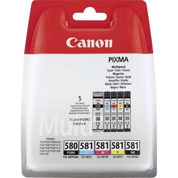 Canon PGI-580/CLI-581 multipakke