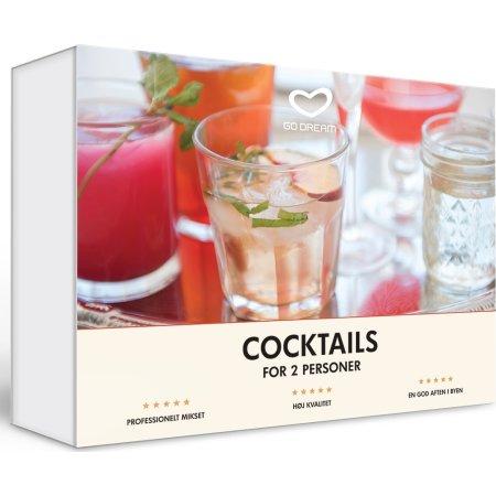 Oplevelsesgave - Cocktails for 2