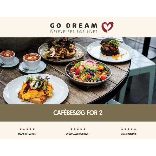 Oplevelsesgave - Cafébesøg for 2