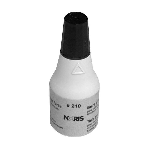 Metalstempelfarve 28g/25ml, sort Noris 210