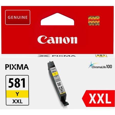 Canon CLI-581XXL blækpatron gul, 600s