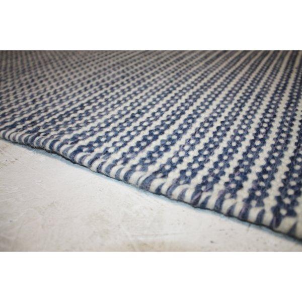 Pilas tæppe, 80x250 cm., aqua