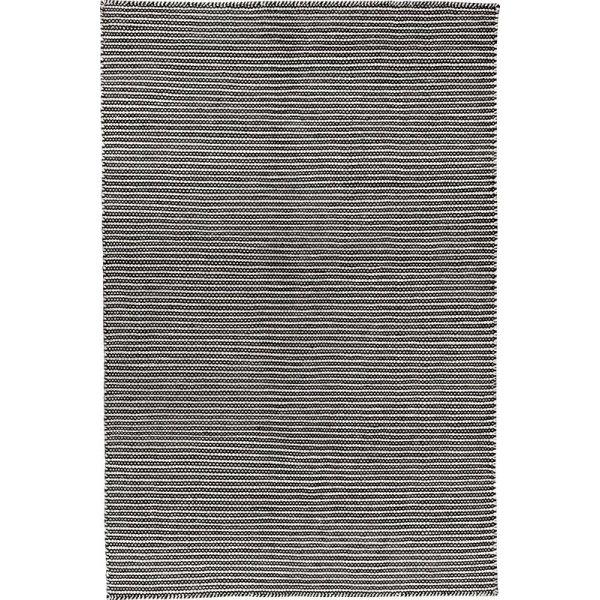 Pilas tæppe, 80x250 cm., sort