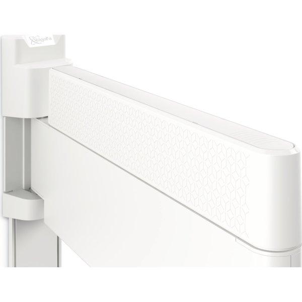 THIN 445  Vægbeslag med drej og vip, 26-55, hvid