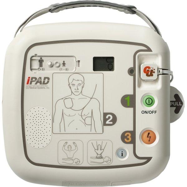 IPAD SP1 hjertestarter med stålskab, sampak