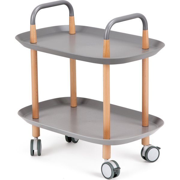 Espresso bakkebord, grå