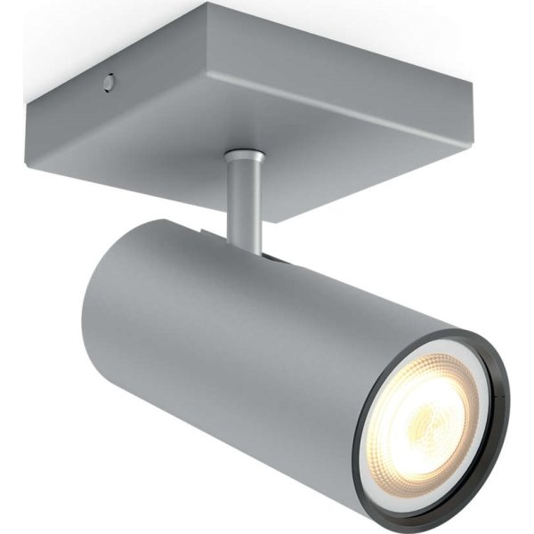 Philips HUE Buratto GU10 spot, aluminium