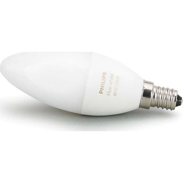 Philips HUE White + color Ambiance E14