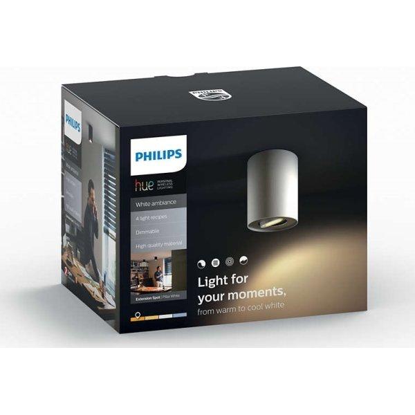 Philips HUE Pillar GU10 spotlys, hvid