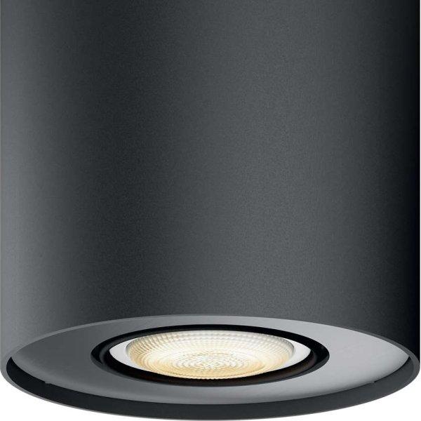 Philips HUE Pillar GU10 spotlys, sort