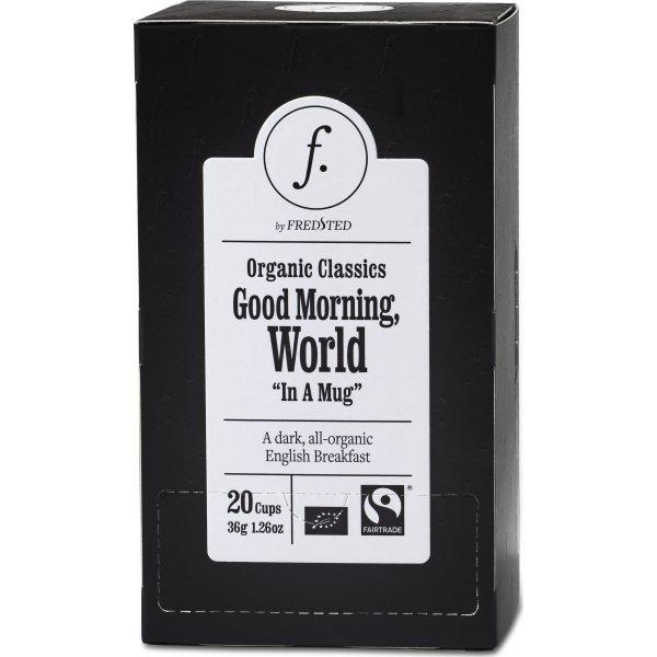 Fredsted Organic Classics Good Morning Te, 20 brev