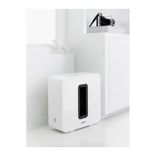 Sonos Sub - trådløs subwoofer, hvid