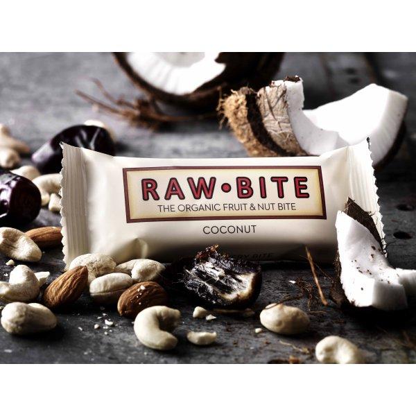 Rawbite Coconut Snackbar, 50g