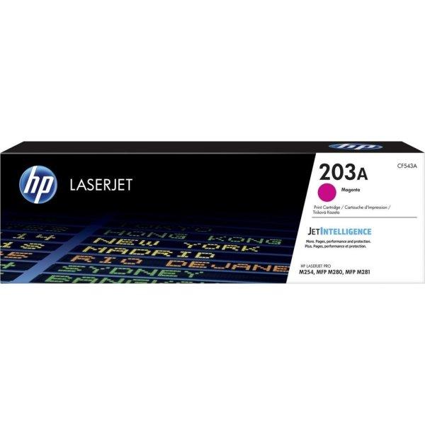 HP LaserJet 203A lasertoner, magenta, 1.300s