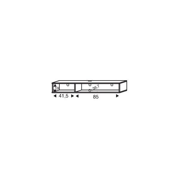 Mistral sektion 158 TV modul Light bøg