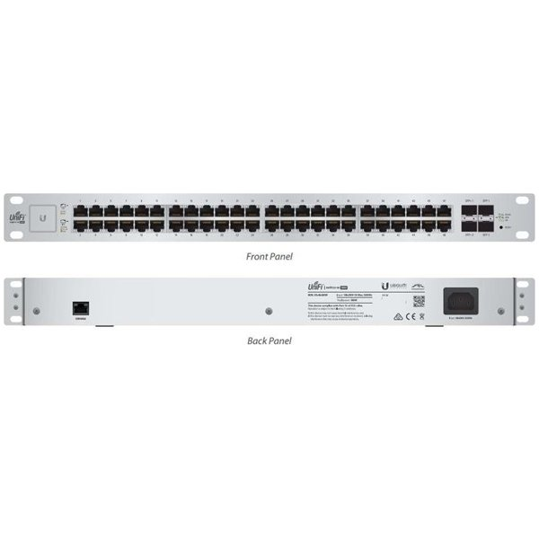 Ubiquiti US-48-750W EdgeSwitch, 48-Ports