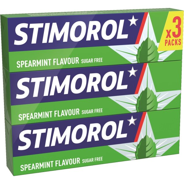 Stimorol spearmint 3pk.