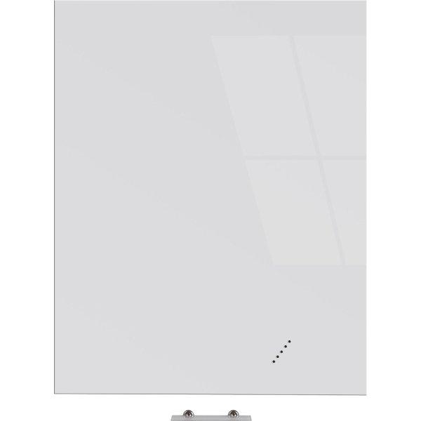 Vanerum Bright glastavle, 90 x 120 cm, hvid
