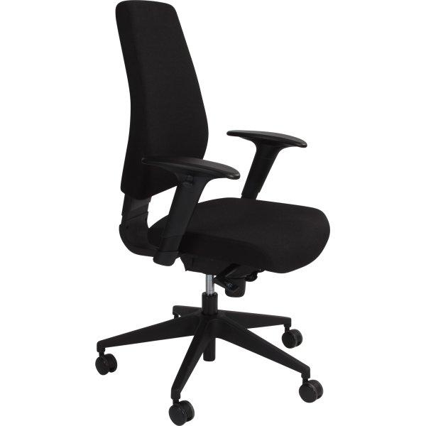 Top Prisbillig kontorstol inkl. armlæn, med gode funktioner - Fri Fragt! BF42