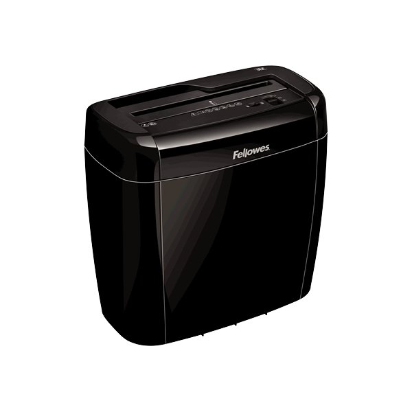 Fellowes Powershred 36C krydsmakulator, sort