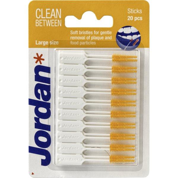 Jordan Clean Between Stick Large, 20 stk