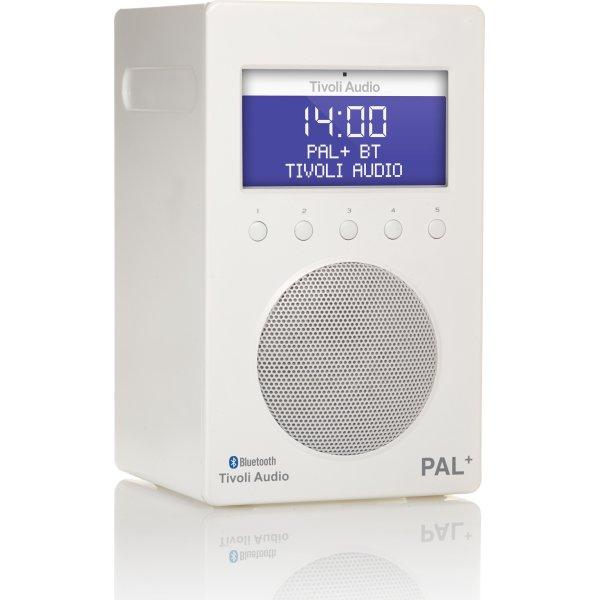 Tivoli Audio Pal+ DAB+/FM/BT radio, glossy white
