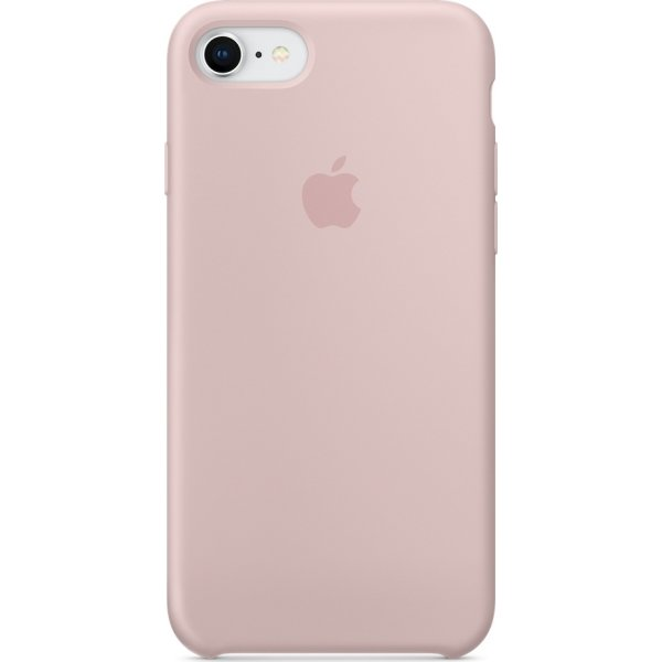 Apple iPhone 8/7 silikone cover, Pink Sand