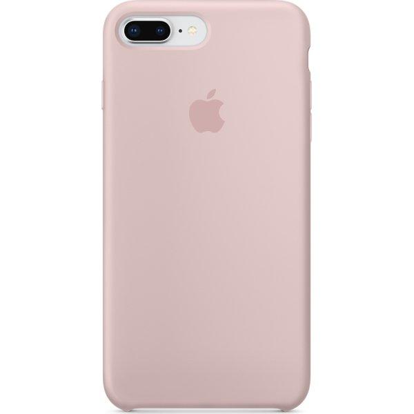 Apple iPhone 8/7 Plus silikone cover, Pink Sand