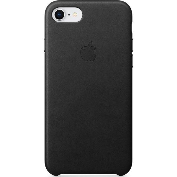 Apple iPhone 8/7 Leather Case, Black