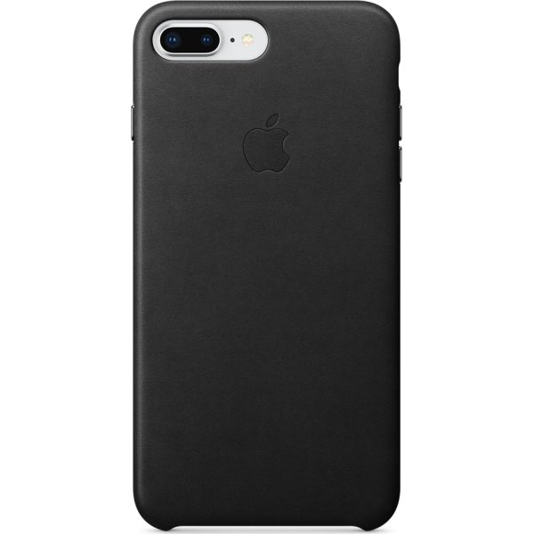 Apple iPhone 8/7 Plus Leather Case, Black